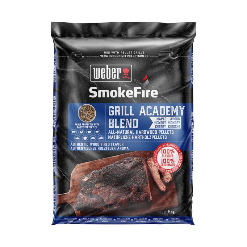 Weber SmokeFire 100% natürliche Holzpellets Grill Academy Blend