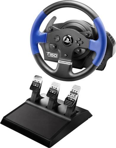 Thrustmaster T150 Pro Force Feedback + T3PA Lenkrad USB 2.0 PlayStation 3, PlayStation 4, PC Schwarz