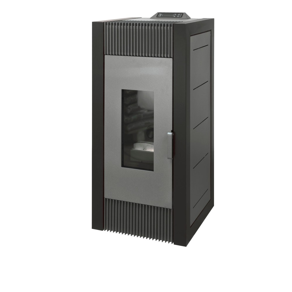 Ximax Pelletofen X16C mit integriertem Display-rot