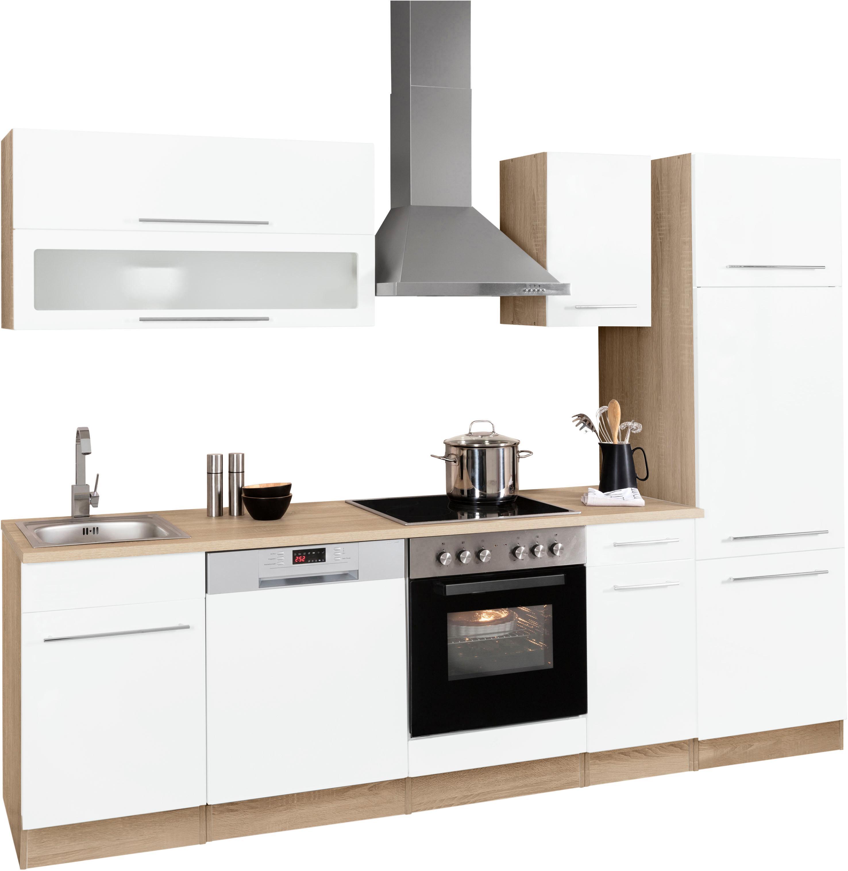 HELD MÖBEL Küchenzeile Eton, ohne E-Geräte, Breite 270 cm
