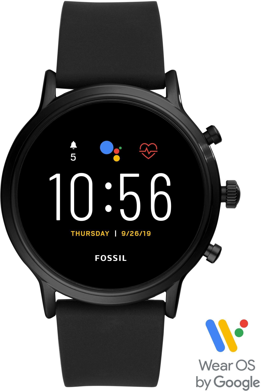 Fossil Smartwatches Smartwatch THE CARLYLE HR SMARTWATCH, FTW4025, (mit individuell einstellbarem Zifferblatt)