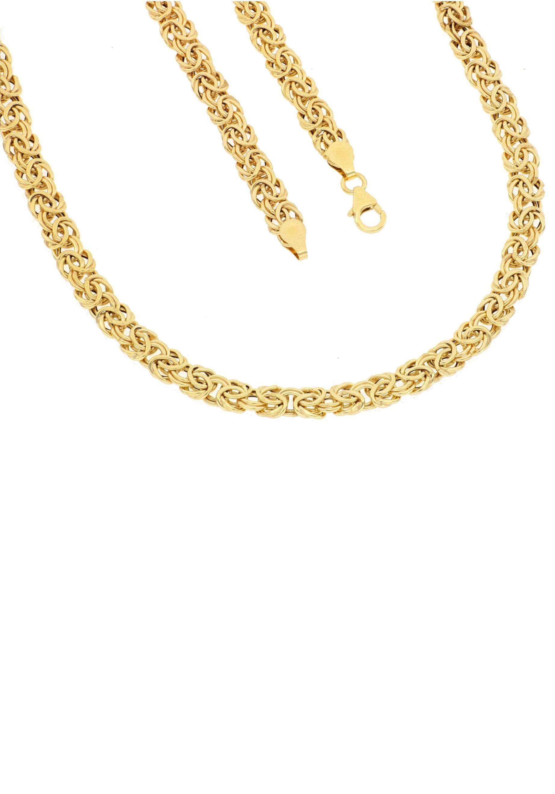 Firetti Goldkette Glanz, oval, Königskettengliederung