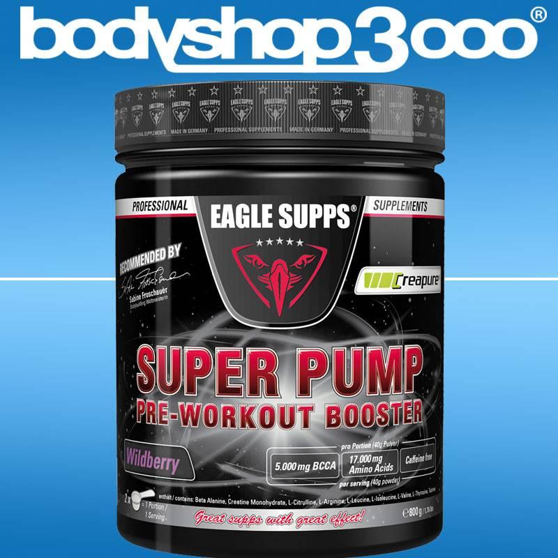 EAGLE SUPPS Super Pump Pre-Workout Booster 800g