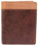 LEONARDO VERRELLI - Herren Geldbörse Hoch RFID aus Leder