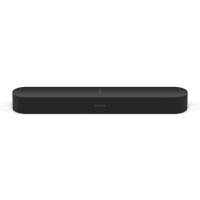 Sonos BEAM schwarz, smarte Soundbar mit integrierter Sprachsteuerung