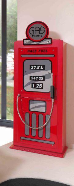 Schrank Tankstelle, Rot