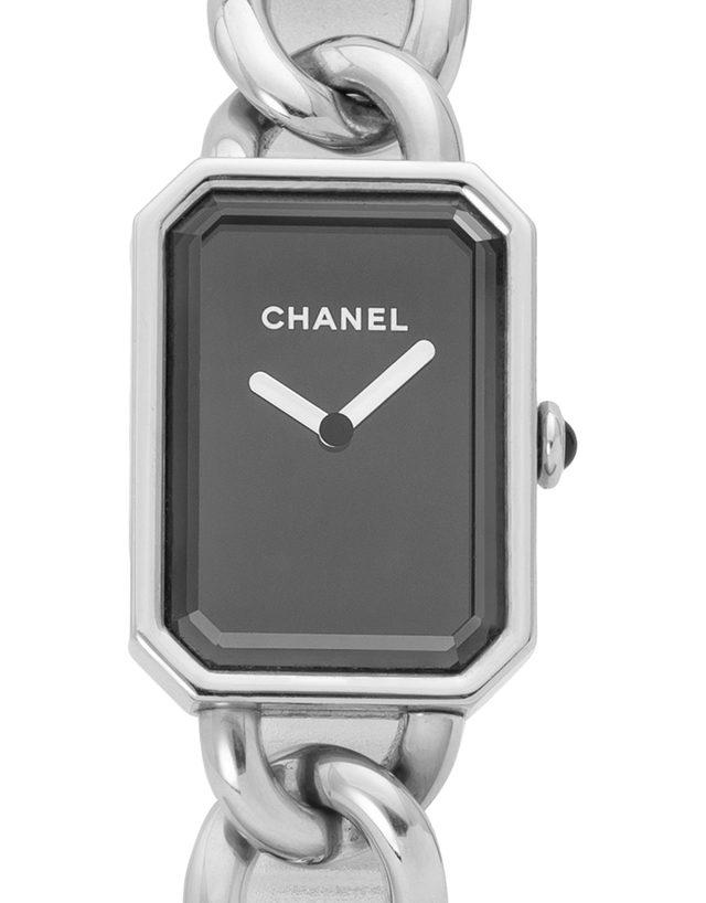 Chanel Premiere Chaine   H3250, Leer, 2013, Sehr Gut, Gehäuse Stahl, Band: Stahl