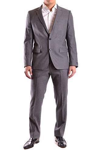 Hugo Boss Luxury Fashion Herren MCBI24209 Grau Anzuge | Jahreszeit Outlet