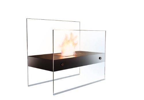 Carlo Milano Bioethanol Kamin: Lounge-Feuer Avantgarde für Bio-Ethanol (Standkamin)