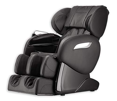 Home Deluxe - Massagesessel - Sueno schwarz V2 - inkl. komplettem Zubehör