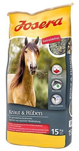 Josera Pferdefutter Kraut & Rüben, 1er Pack (1 x 15 kg )