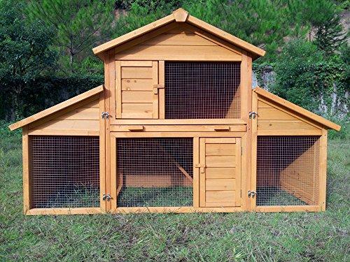 Zoopplier Kaninchenstall Kleintierhaus Hasenstall Kleintierkäfig Nr. 01