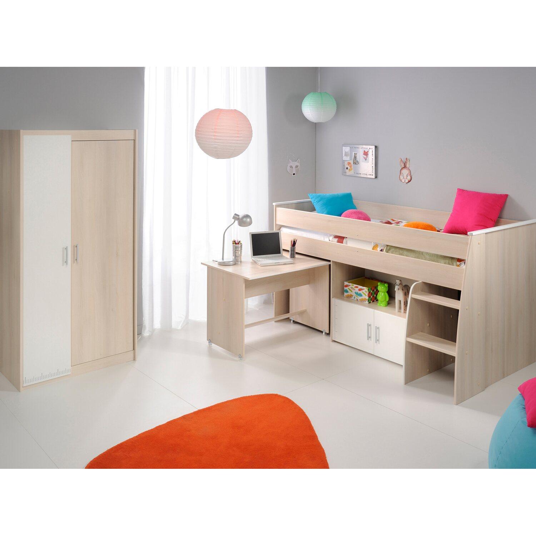 Parisot Kinderzimmer Set 2-teilig Charly V Akazie-Weiß