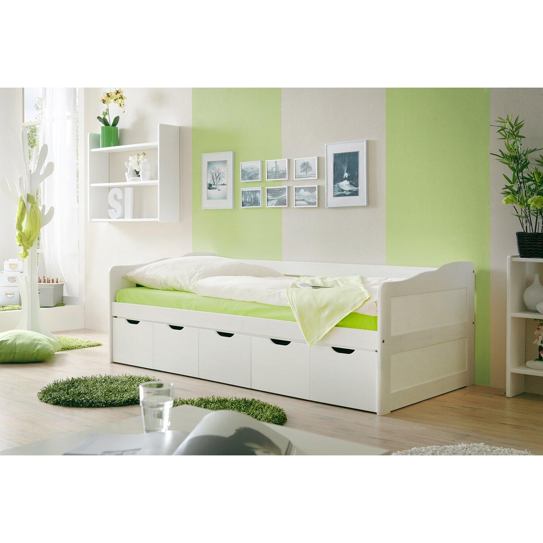Sofabett mit Schubkästen Maria Weiß