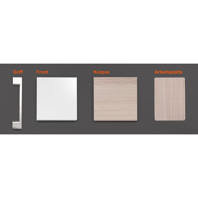 Musterpaket Küchenzeile/Küchenblock Abaco