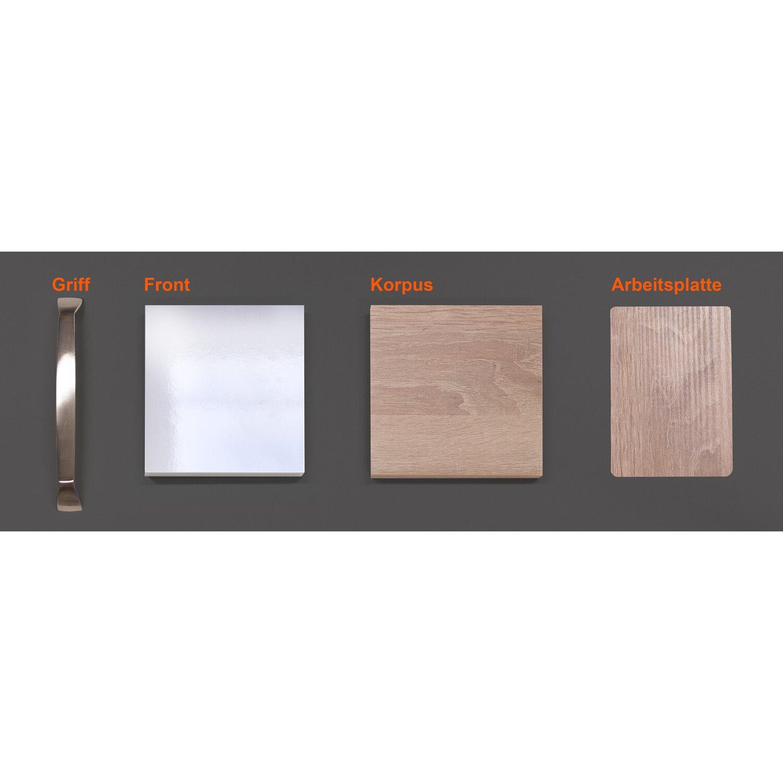 Musterpaket Küchenzeile/Küchenblock Valero