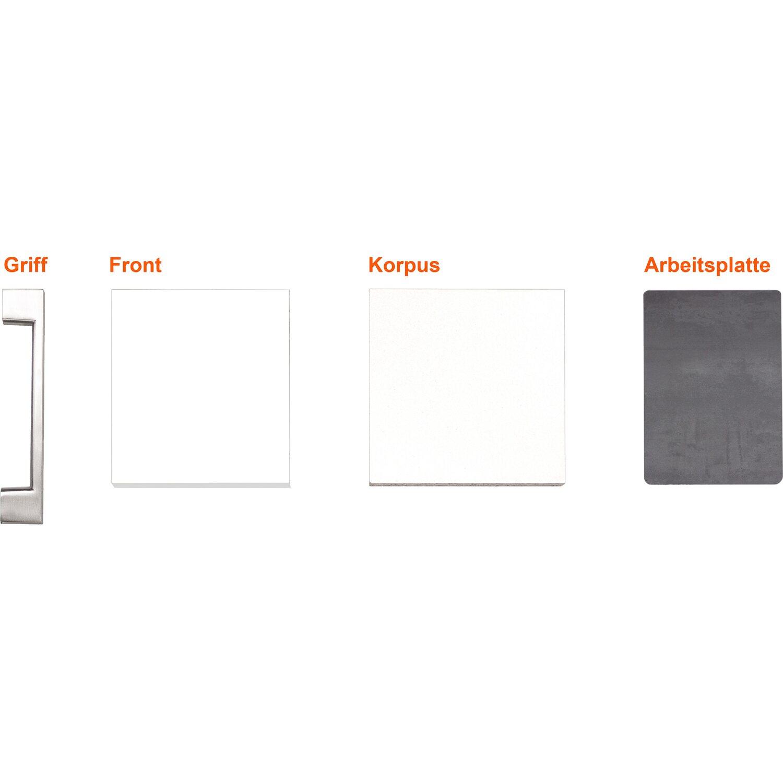 Musterpaket Küchenzeile/Küchenblock Joelina