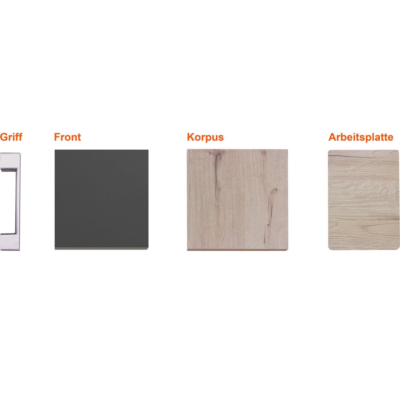 Musterpaket Küchenzeile/Küchenblock Morena