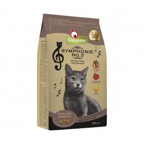 GranataPet Katzen-Trockenfutter Symphonie No. 3 Strauss 400g