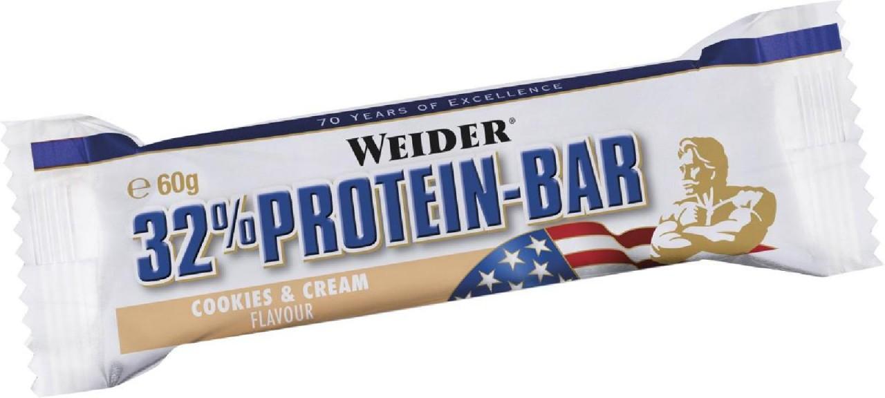 Joe Weider 32% Protein Bar, 24 x 60 g Riegel