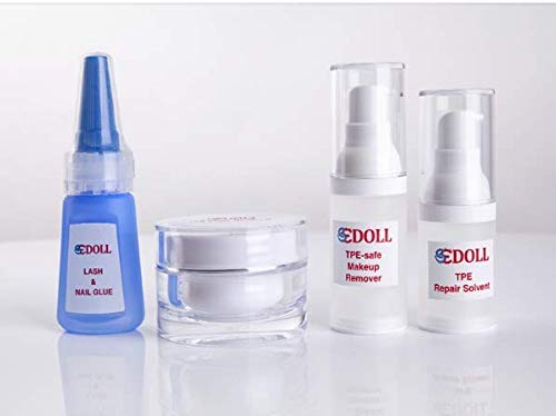 Silikon Puppe Reparatur Zubehör,TPE Fleckenentferner,TPE Klebstoff Adhesive,TPE Puppe Mascara,Puppe Cleansing Oil