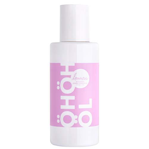 Loovara ÖHÖHÖL – Premium Erotik Massageöl (100 ml) | mit natürlichem, hochwertigem Jojoba- u. Mandel-Öl | Vorspiel, Partnermassage | Sex-Toy geeignet | nahezu duftneutral