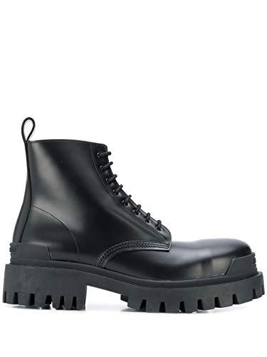 Balenciaga Luxury Fashion Herren 589338WA9601000 Schwarz Leder Stiefeletten   Jahreszeit Permanent