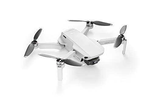 DJI Mavic Mini – Drohne, leicht und tragbar, Flugzeit: 30 Min, Übertragungsentfernung: 4 km HD-Videoübertragung, 3-Achsen-Gimbal, 12 MP, HD-Video 2,7 K