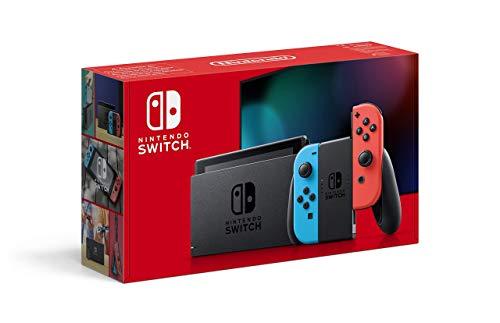Nintendo Switch Konsole - Neon-Rot/Neon-Blau (2019 Edition)