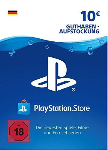 PSN Guthaben-Aufstockung | 10 EUR | deutsches Konto | PSN Download Code