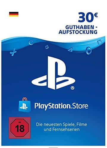 PSN Guthaben-Aufstockung | 30 EUR | deutsches Konto | PSN Download Code