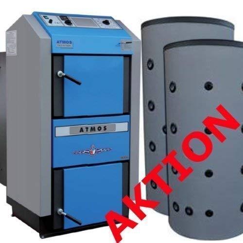ATMOS DC25GSE Holzvergaserkessel BAFA mit 2x1000 Liter Puffer