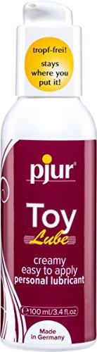 pjur Toy Lube - Gleitgel für tropf-freies & punktgenaues dosieren - nie mehr kleckern - für alle Erotik- & Sextoys geeignet - 1er Pack (1 x 100 ml)