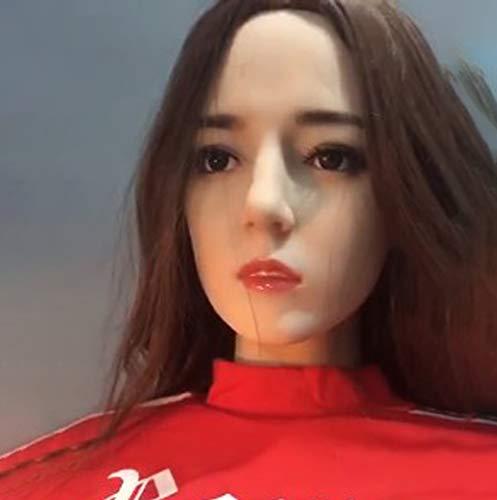 LJHCR Aufblasbare Sexpuppe, 168CM aufblasbare Puppe Frau, Semi Silikon perfekte Frau Puppe, TPE Puppe echte Sexpuppe, Private Lieferung-B