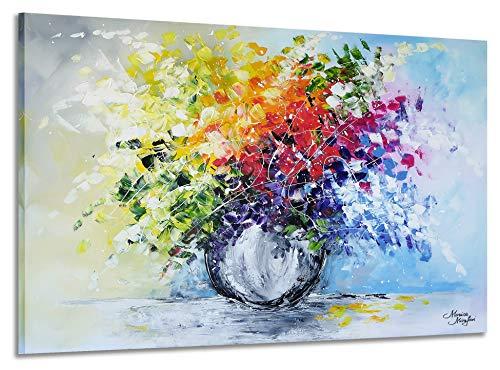Acryl Gemälde /'PICASSO GESICHT ABSTRAKT/'HANDGEMALTLeinwand Bilder 100x75cm