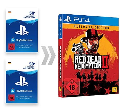 PSN Guthaben-Aufladung für Red Dead Redemption 2 Ultimate Edition | PS4 Download Code - deutsches Konto