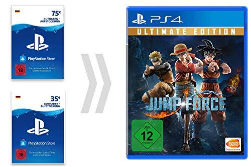PSN Guthaben-Aufladung für Jump Force - Ultimate Edition [PS4 Download Code - deutsches Konto]