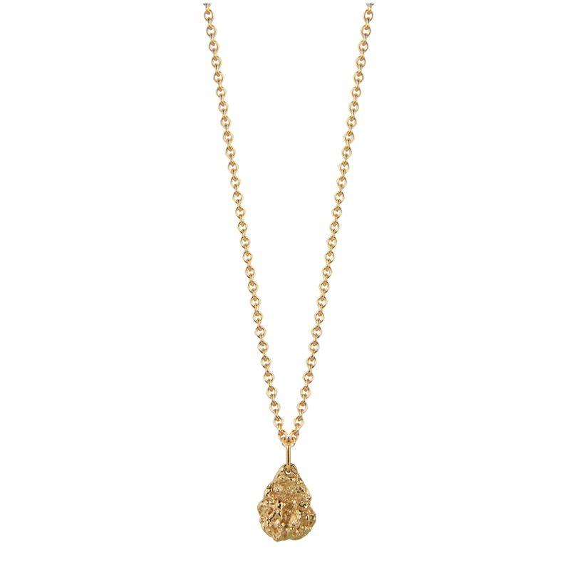 Jeberg Halskette - I Am Gold Petite - 40760-Gold 925 Silber vergoldet gold