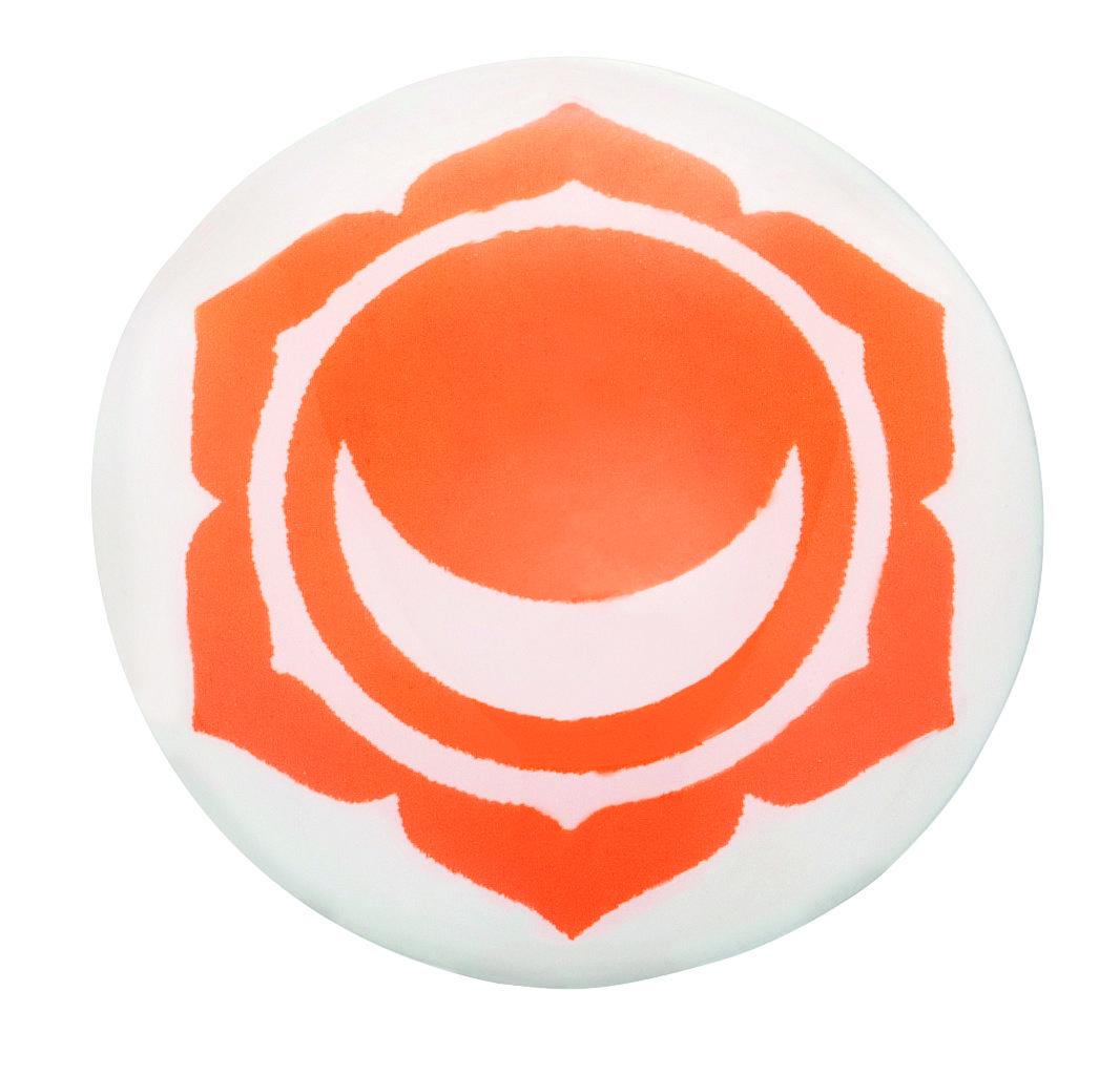 Engelsrufer Anhänger - Klangkugel - Chakra - Orange - ERS-CHAKRA-06
