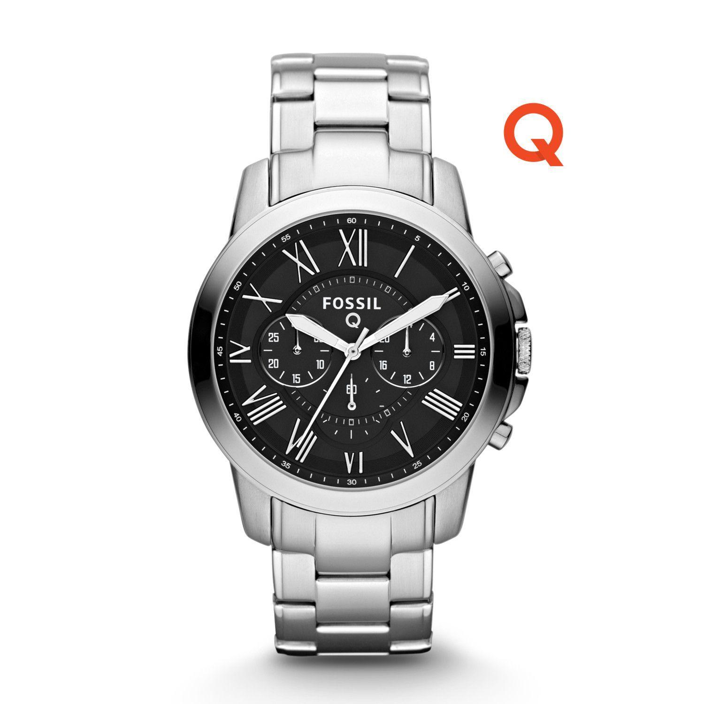Fossil Smartwatch - Smartwatch - Q Grant - FTW10032 Herren silber