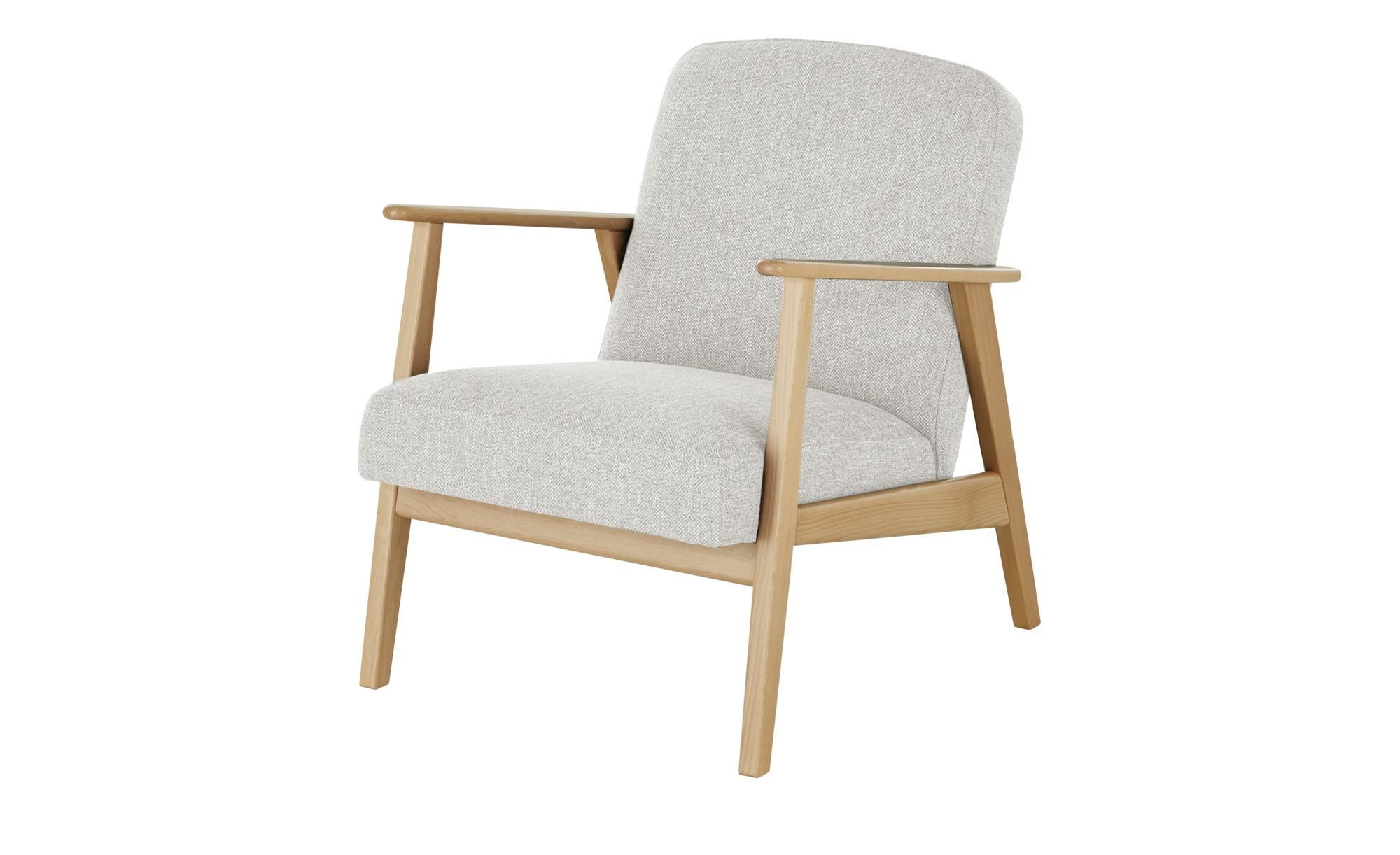 smart Sessel  Rada ¦ grau ¦ Maße (cm): B: 64 H: 76 T: 83 Polstermöbel > Sessel > Polstersessel - Höffner