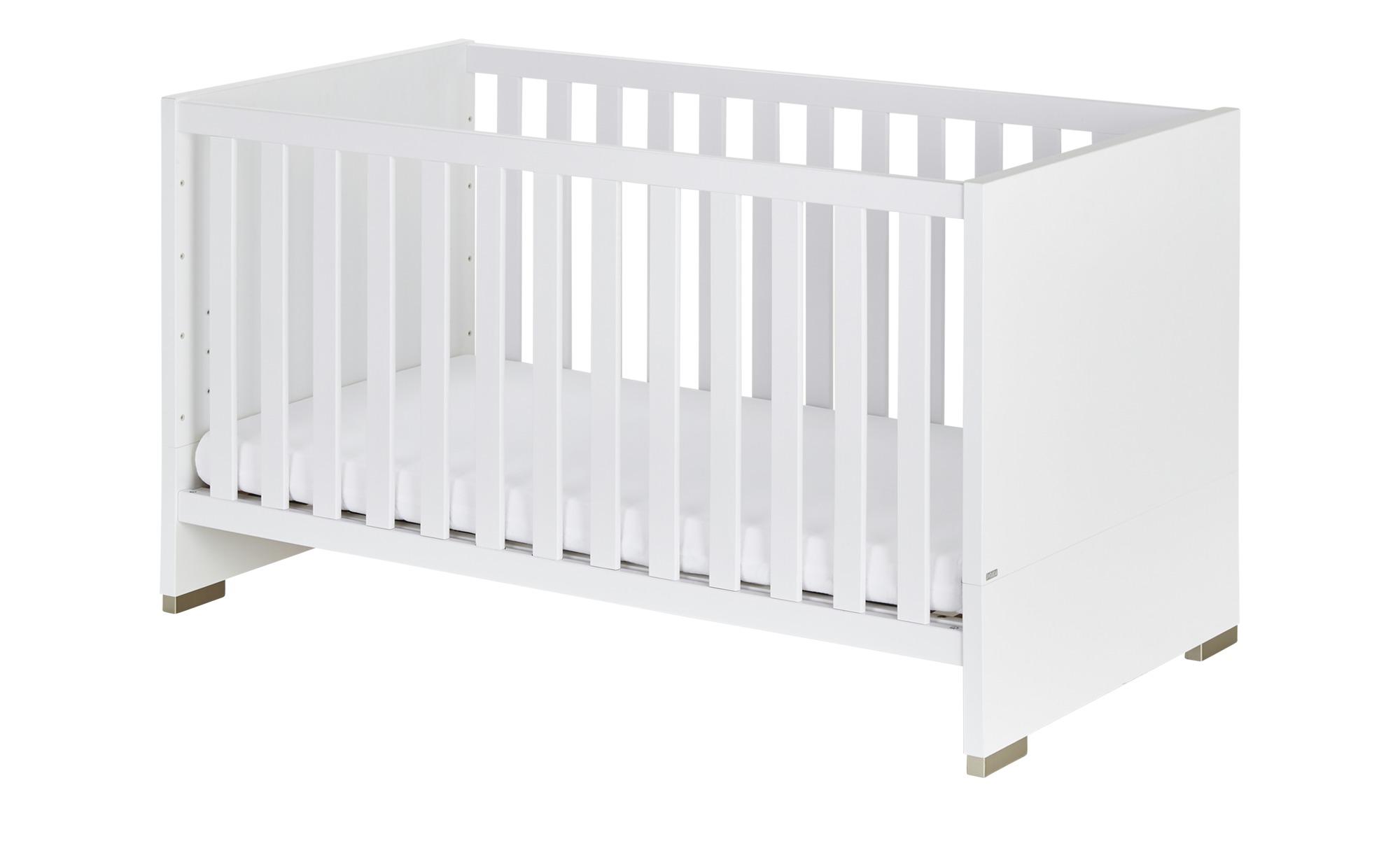 PAIDI Kinderbett  Carlo - weiß - 75,8 cm - 83,3 cm - Baby > Babymöbel > Babybetten - Möbel Kraft