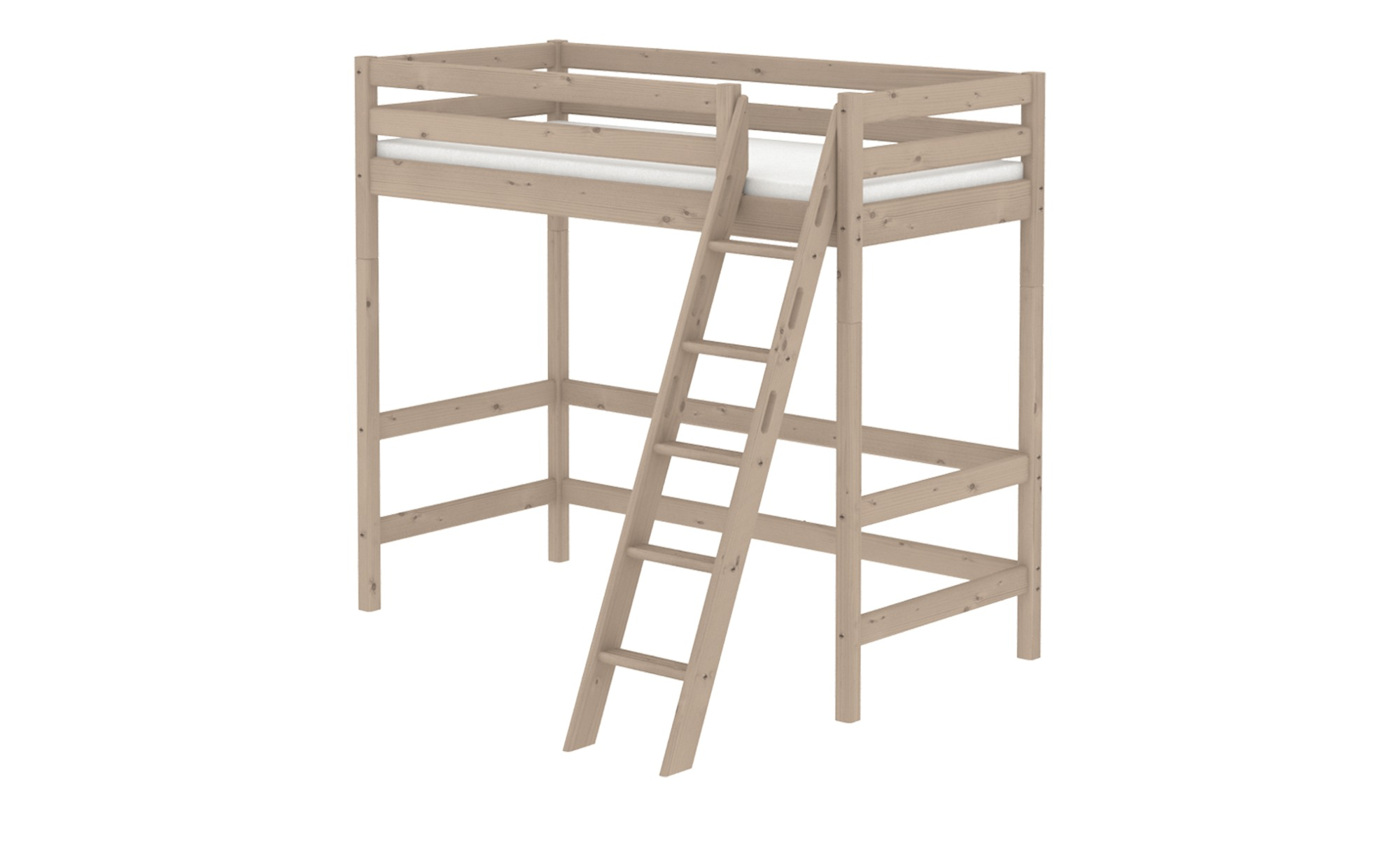 FLEXA Hochbett  Flexa Classic - holzfarben - 179 cm - 185 cm - Kindermöbel ></noscript> Kinderbetten > Hochbetten - Möbel Kraft