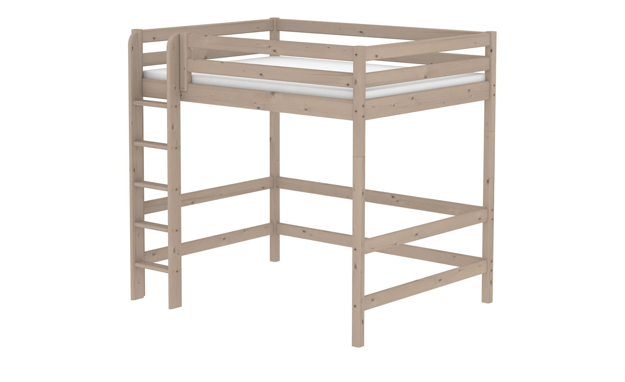 FLEXA Hochbett  Flexa Classic - holzfarben - 160 cm - 185 cm - Kindermöbel > Kinderbetten > Hochbetten - Möbel Kraft