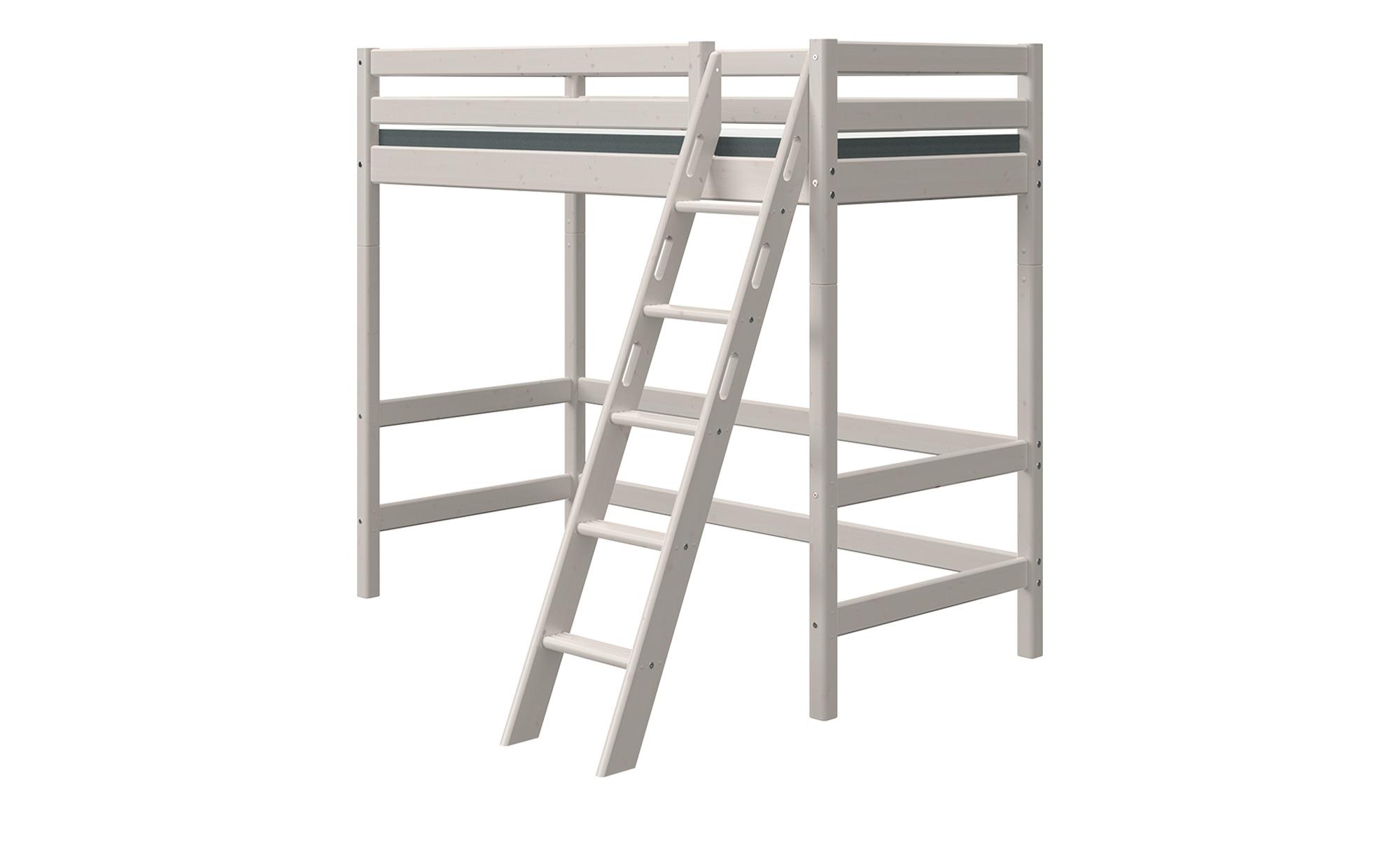 FLEXA Hochbett  Flexa Classic - grau - 179 cm - 184 cm - Kindermöbel > Kinderbetten > Hochbetten - Möbel Kraft