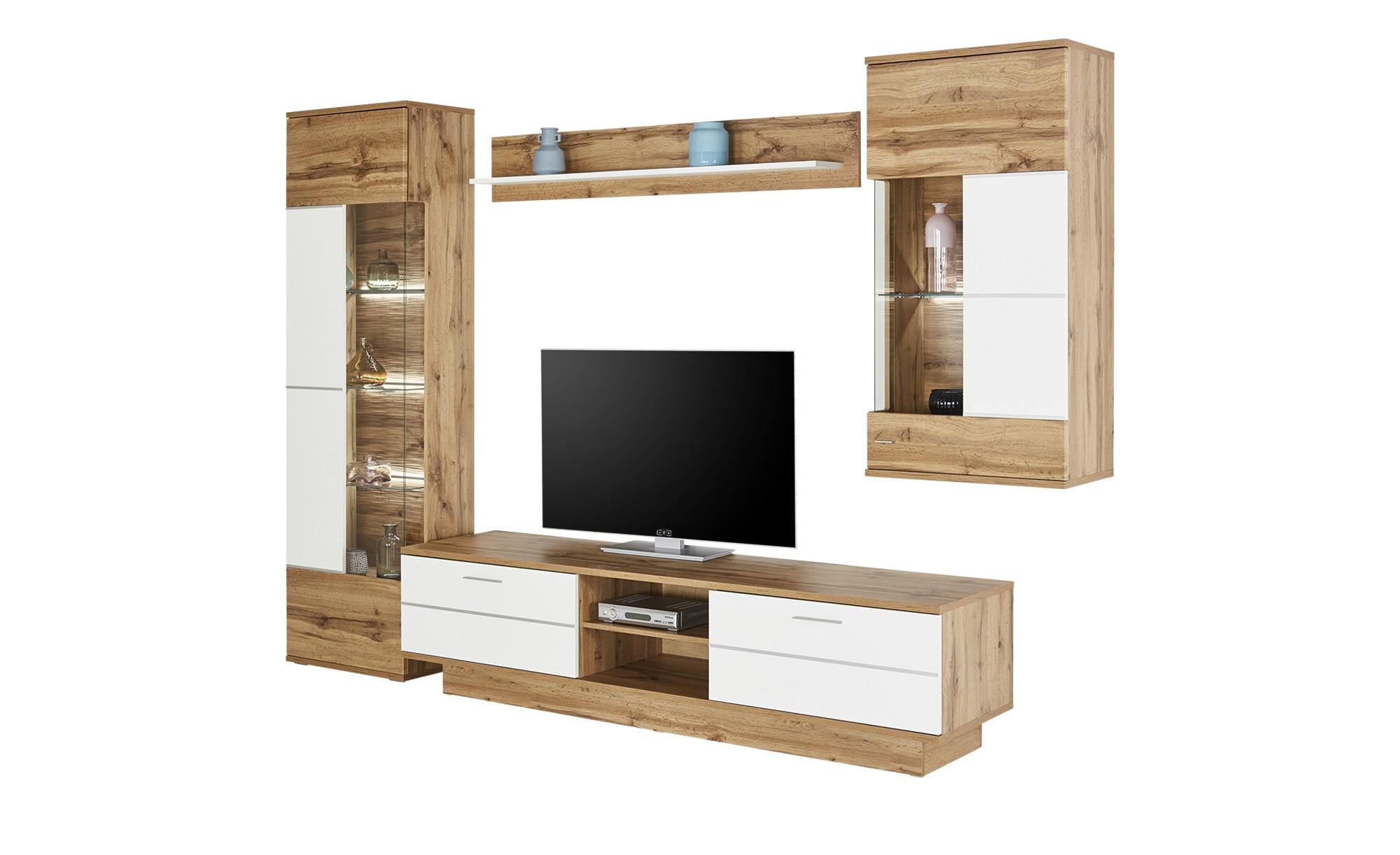 uno Wohnwand   Alfonso - 291 cm - 208 cm - 50 cm - Wohnwände > Anbauwände - Möbel Kraft