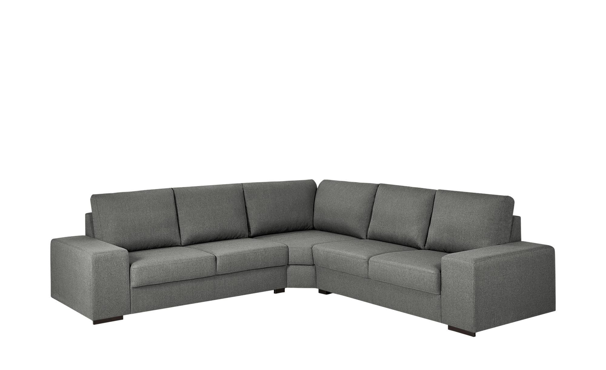 Ecksofa - grau - 90 cm - Polstermöbel > Sofas > Ecksofas - Möbel Kraft