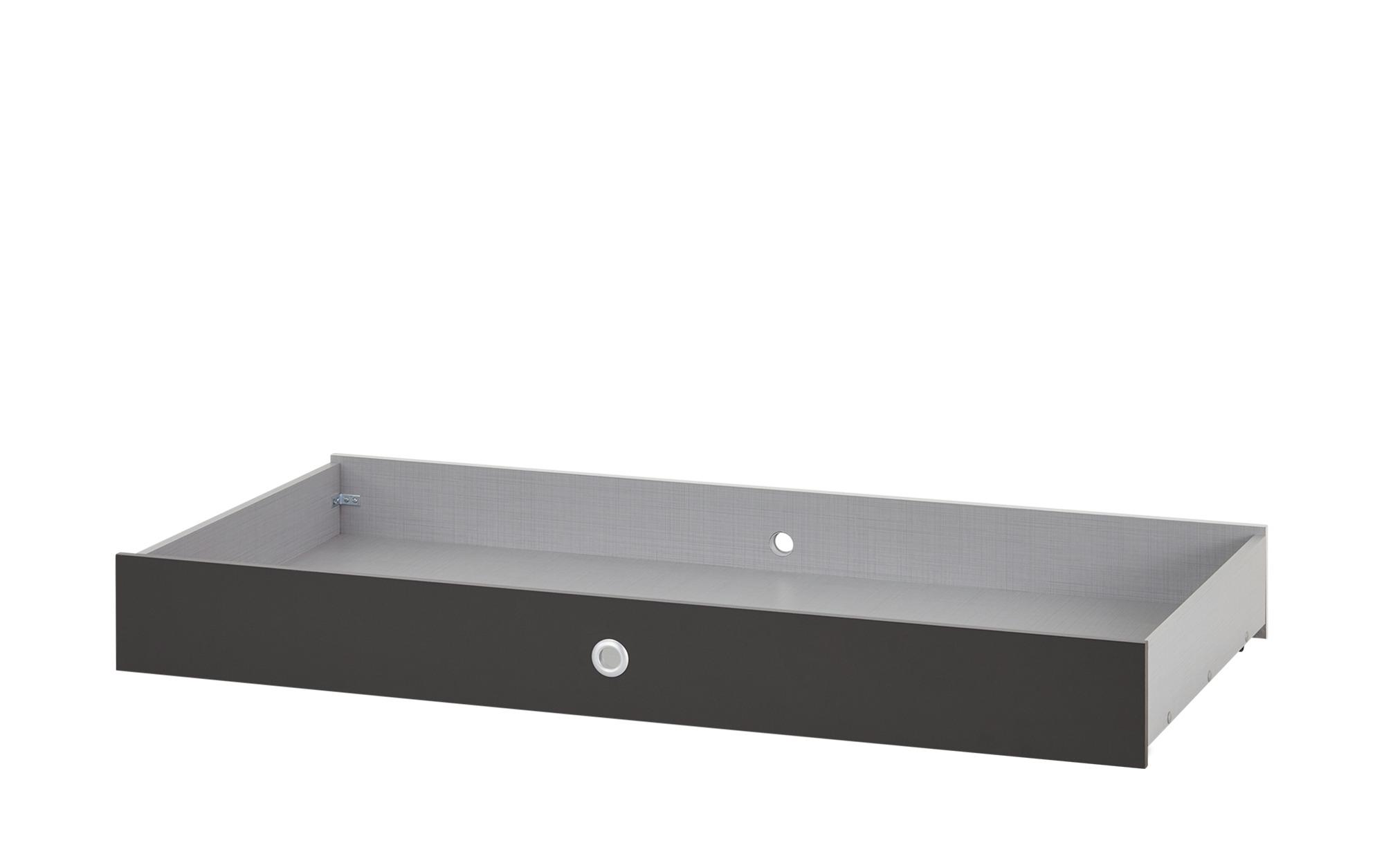 Bettschubkasten für Babybett  Cariba - holzfarben - 70 cm - 16 cm - 140 cm - Sconto