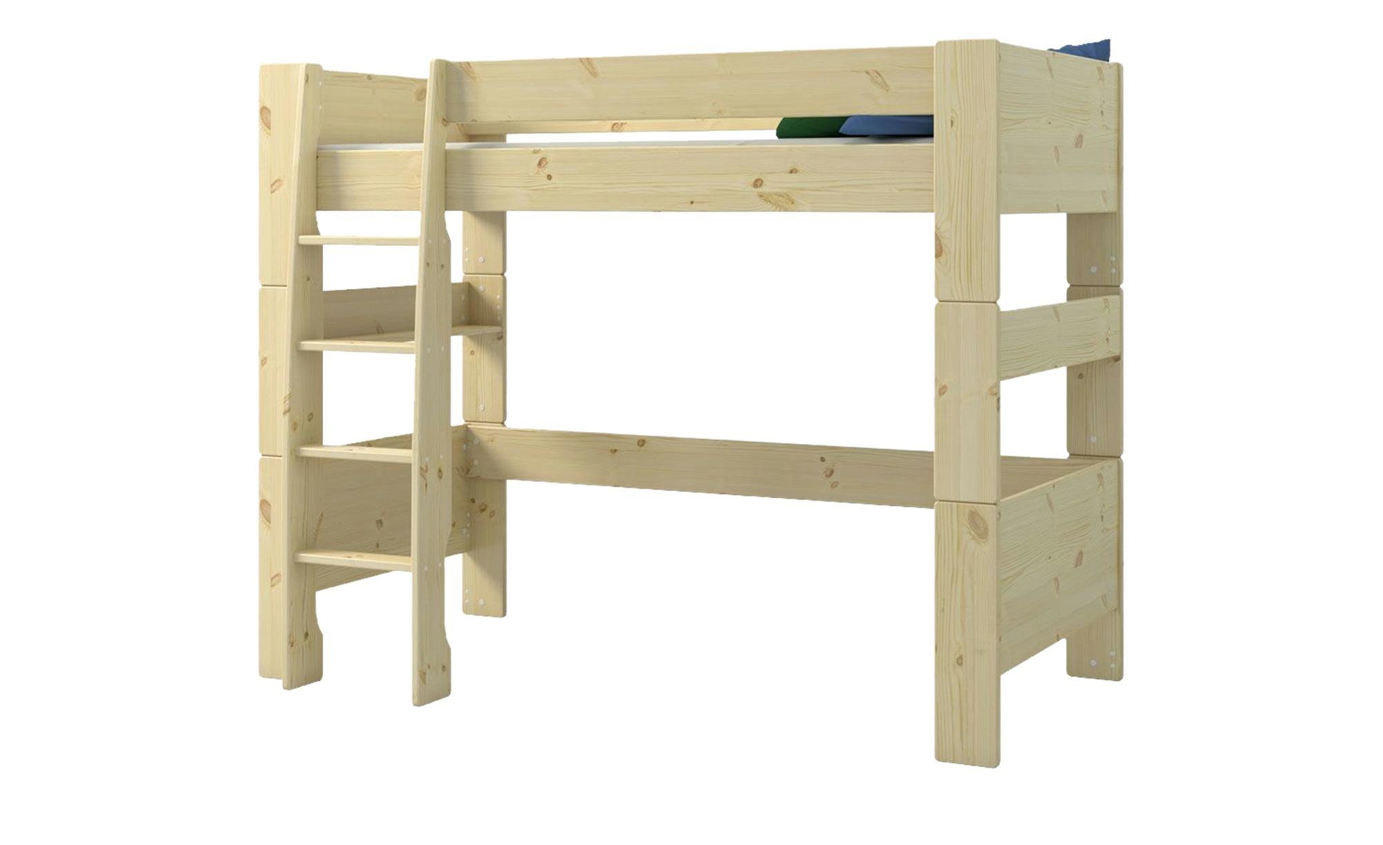 Hochbett  For Kids - holzfarben - 206 cm - 164,3 cm - 114 cm - Sconto