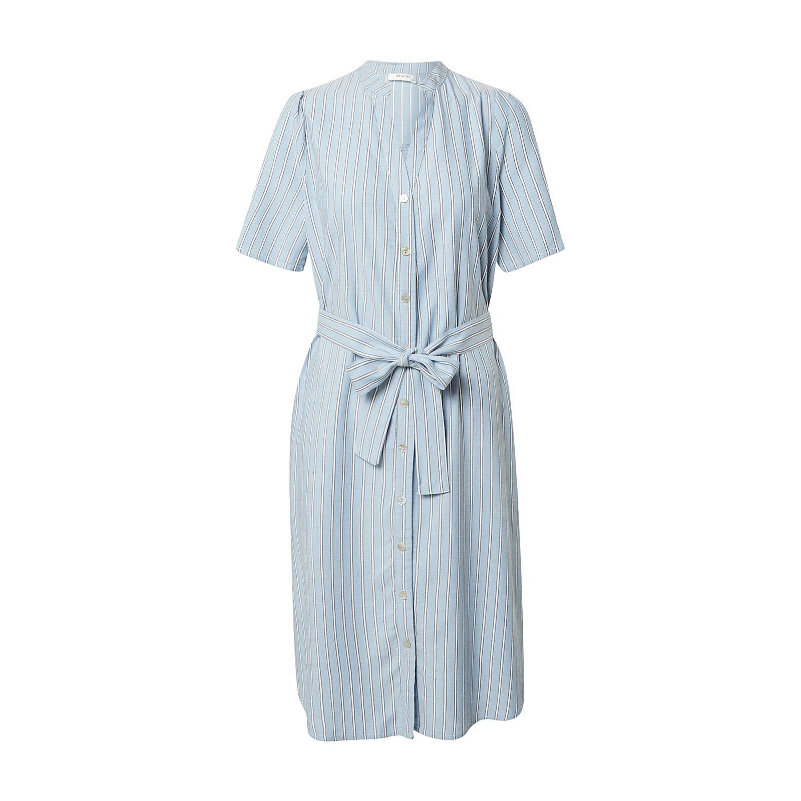 MOSS COPENHAGEN blusenkleid makita Blusenkleider blau Damen Gr. 36